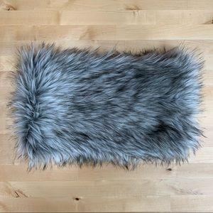LOFT Oversized Faux Fur Snood Scarf